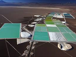 Production site in Salar de Atacama